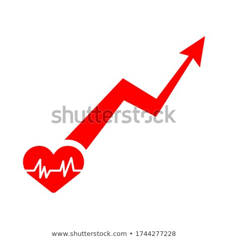 A chart with a heart Stock photo © bluering