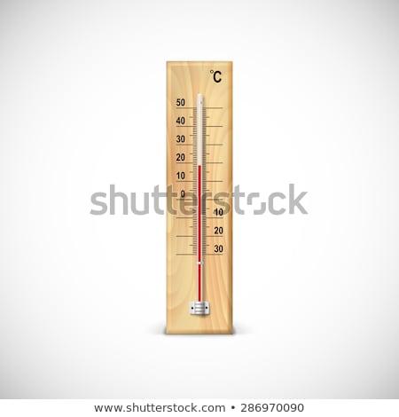 Zdjęcia stock: Skali · termometr · biały · lekarza · medycznych