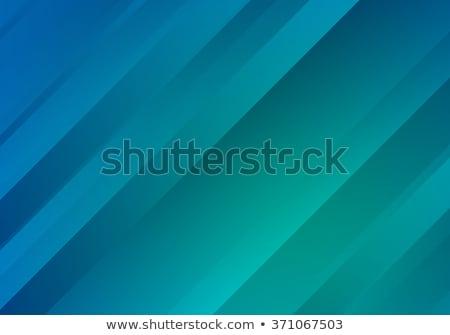 красивой чистой минимальный синий бизнеса волна Сток-фото © SArts