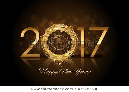 Lucido buon anno felice Foto d'archivio © SArts