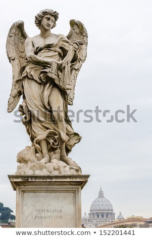 Statue of Angel at the Castel Sant'Angelo in Rome, Stock photo © Pilgrimego