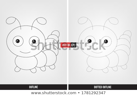 Tracing word for insects Stock photo © bluering