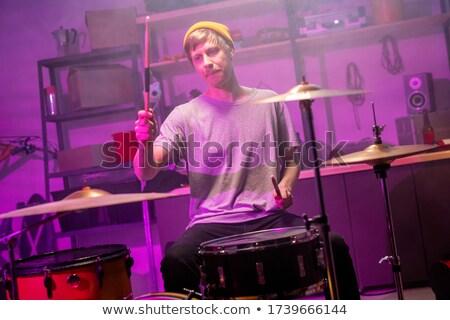 Maschio cantante musicisti festival di musica Foto d'archivio © wavebreak_media