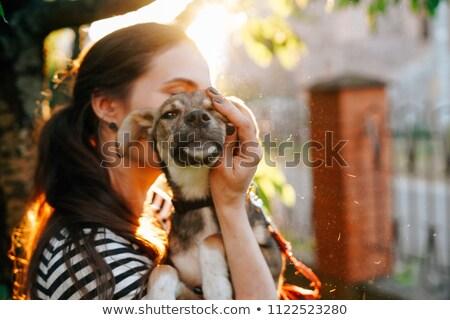 ペット 採用 画像 少年 少女 ストックフォト © cteconsulting