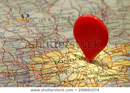 Red map pointer No Stock photo © Oakozhan