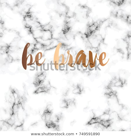 vector marble texture design with typographic message poster bl stock photo © bluelela