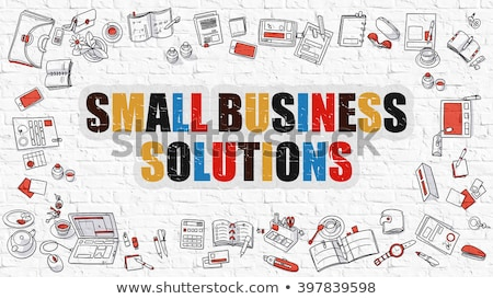 Stock photo: Small Business Ideas in Multicolor. Doodle Design.