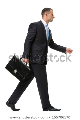 ビジネスマン 徒歩 孤立した マネージャ 場合 作業 ストックフォト © MaryValery