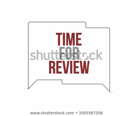 Stok fotoğraf: Zaman · sohbet · kabarcıklar · örnek · dizayn · grafik