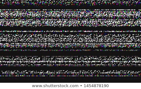 televízió · képernyő · statikus · zaj · eltorzult · tv - stock fotó © trikona