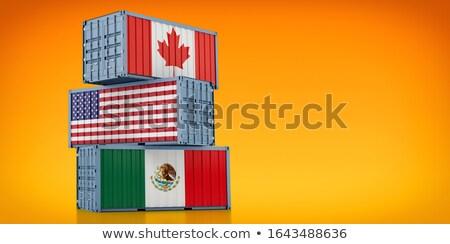 Canada United States Tariff Stock photo © Lightsource