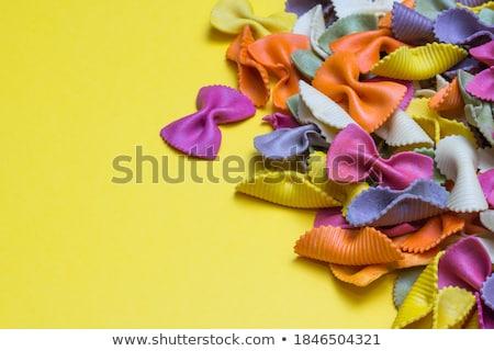 сырой мучной красочный пасты белый пластина Сток-фото © Melnyk