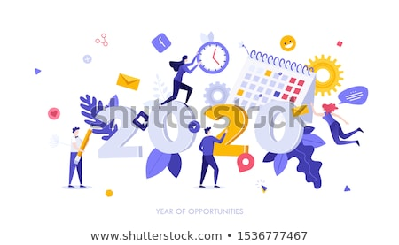 Year of opportunities for you business vector. Stock photo © TarikVision