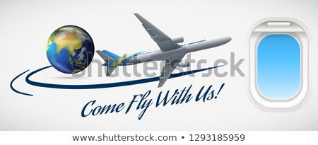Come fly with us Stock photo © bluering