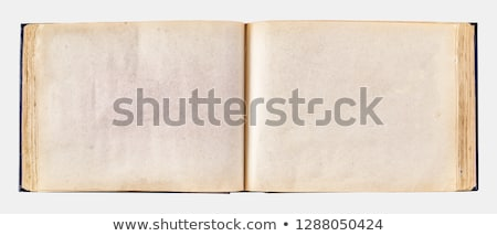 Stock photo: old book with vintage photo