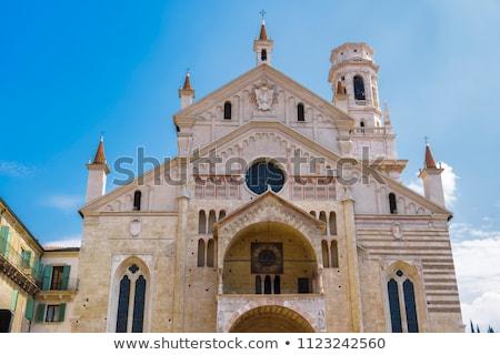 Cathedral of Verona Stock photo © backyardproductions