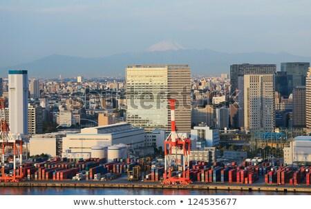 Tokio industrial puerto puerta puente Japón Foto stock © vichie81