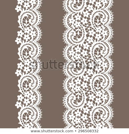 Seamless pattern and single object isolated on white Stock photo © bluering