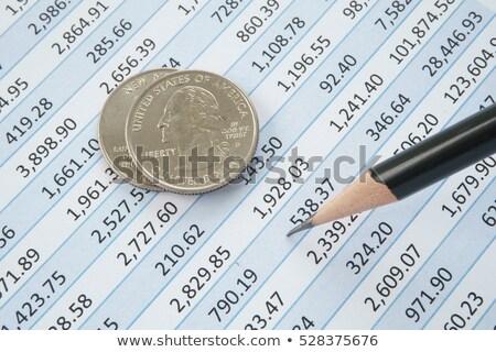 financiële · bancaire · voorraad · munt - stockfoto © Freedomz