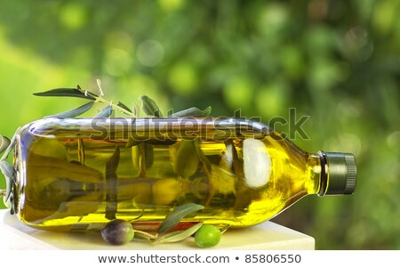 Portuguese olives and aromatic herbs. Stock photo © inaquim