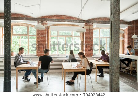 Cozy Coworking Center Community of Entrepreneurs Stock photo © robuart