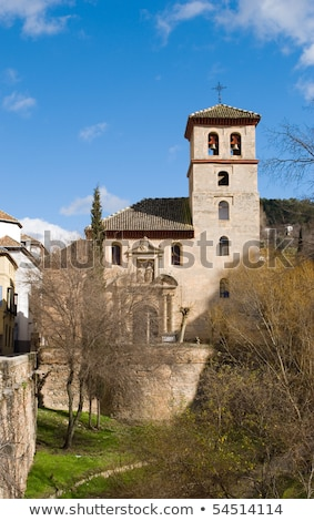 Igreja Espanha protótipo estilo mesquita Foto stock © borisb17