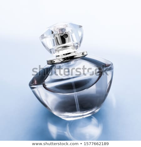 Bleu parfum bouteille sweet floral Photo stock © Anneleven