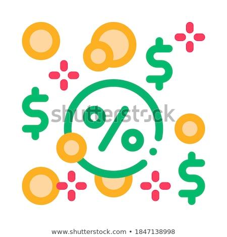 Ikon vektor skicc illusztráció felirat izolált Stock fotó © pikepicture