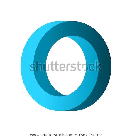 Impossível círculo ícone vetor forma Foto stock © almagami