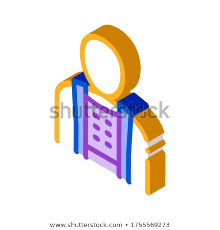 Orthopedic Belt For Spine Back Support isometric icon Stock photo © pikepicture