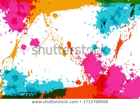 Vector color spots background Stock photo © orson