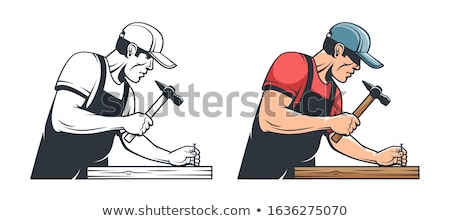 craftsman working with a hammer Stock photo © photography33