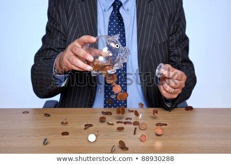 Banquier bureau affaires affaires hommes Finance Photo stock © photography33