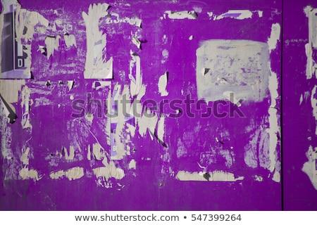 tattered billboard Stock photo © sirylok