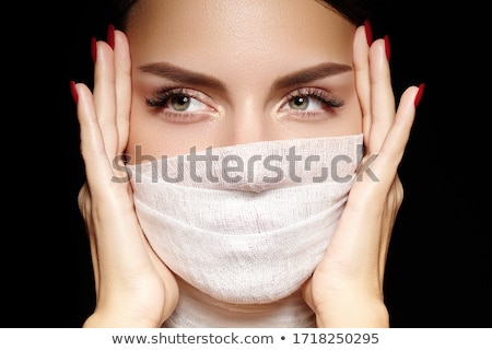 Hermosa maquillaje de ojos belleza moda ojo Foto stock © vlad_star