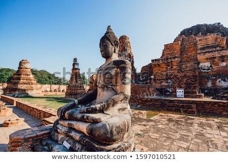 Tayland şehir tarihsel park unesco dünya Stok fotoğraf © 3523studio