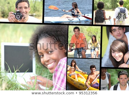 Leisure time themed montage Stock photo © photography33
