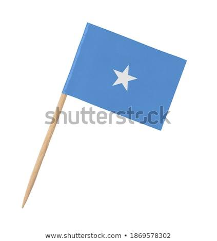 Miniatura banderą Somali odizolowany spotkanie Zdjęcia stock © bosphorus