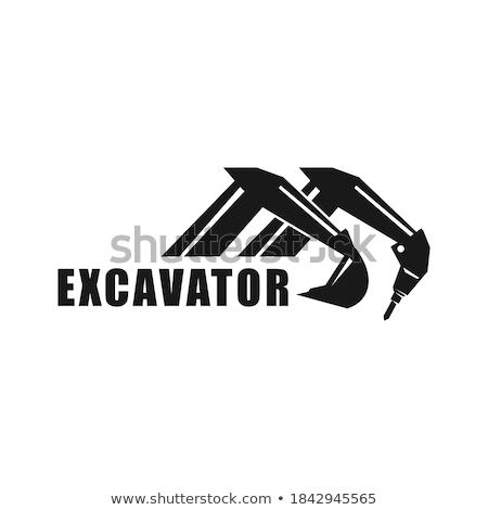 Excavator arm Stock photo © pongam