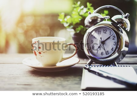 Wake up to the aroma of fresh tea Stock photo © OleksandrO