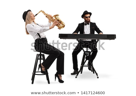 or · musique · note · isolé · blanche · note - photo stock © arcoss