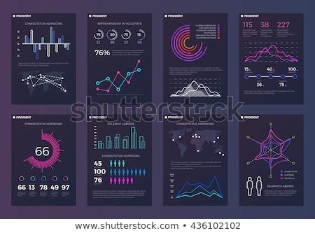 modelo · dados · moderno · como - foto stock © DavidArts