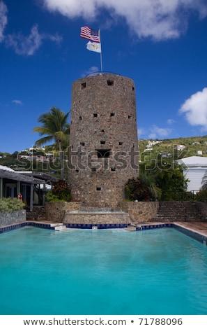 Karib · sziget · Virgin-szigetek · nap · tájkép · nyár - stock fotó © backyardproductions