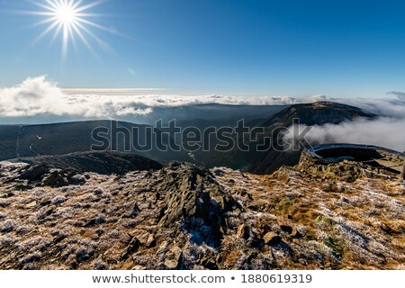 View of peak Sniezka in the Sudeten stock photo © Arezzoni