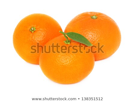 Three mandarins Stock photo © ElinaManninen