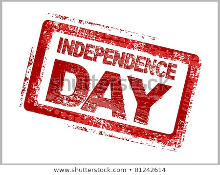 America Independence Day July 4th USA  postage stamp  Stock photo © Snapshot