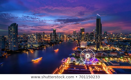 bangkok at night stock photo © joyr