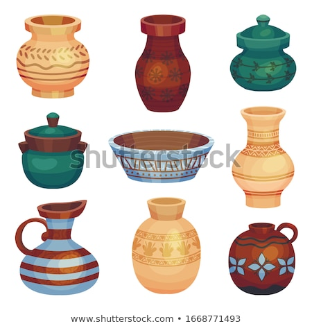 Greek amphora pot Stock photo © Anterovium