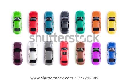 vert · voiture · batterie · isolé · blanche · fond - photo stock © papa1266