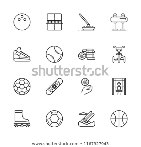 set of 16 vector horses silhouettes stock photo © kaludov